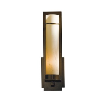 Shown in Dark Smoke finish with Stone Glass color, Large size