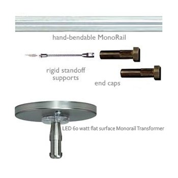 Tech Lighting LED Monorail Kit