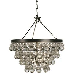 Crystal ceiling lights crystal pendants chandeliers at lumens bling chandeliersemi flushmount aloadofball Gallery