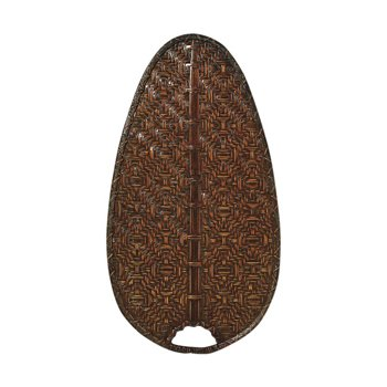 "Caruso 22"" Woven Bamboo Narrow Oval Blade Set"