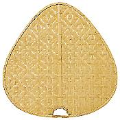 """Palisade 22"""" Woven Bamboo Wide Oval Blade Set"""