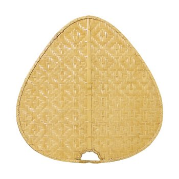 "Palisade 22"" Woven Bamboo Wide Oval Blade Set"