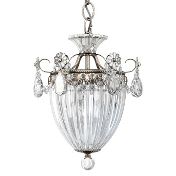 Shown in Antique Silver finish