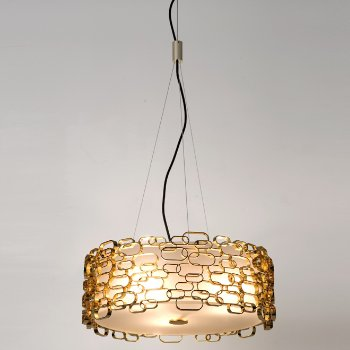 Shown in Gold finish