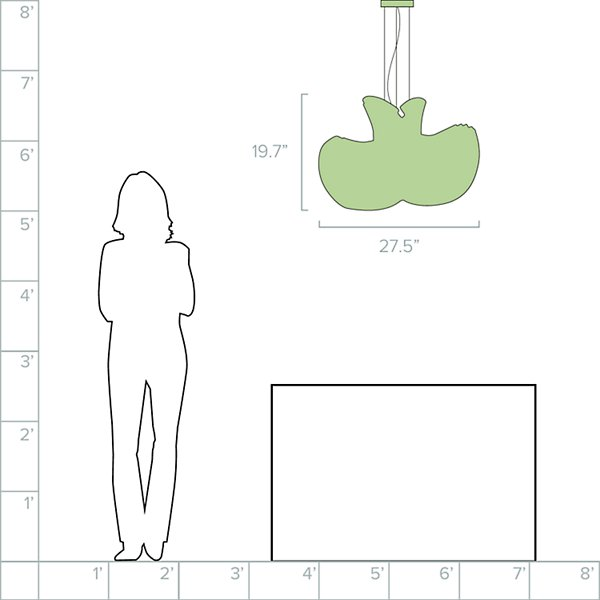 Mini Mikado Pendant