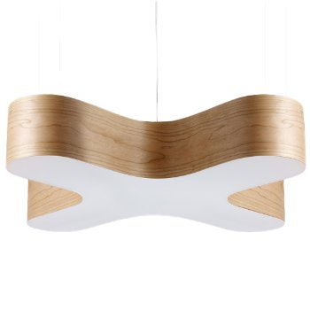 Shown in Natural Cherry finish, Small size