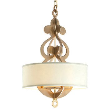 Shown in Polished Brass finish, Medium size