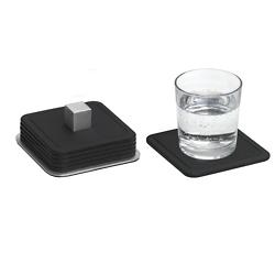 TRAYAN Set 6 Square Coasters