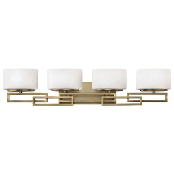 Shown in Brushed Nickel finish, 4 Lights
