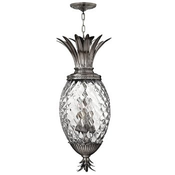 Shown in Polished Antique Nickel finish, Clear Optic color