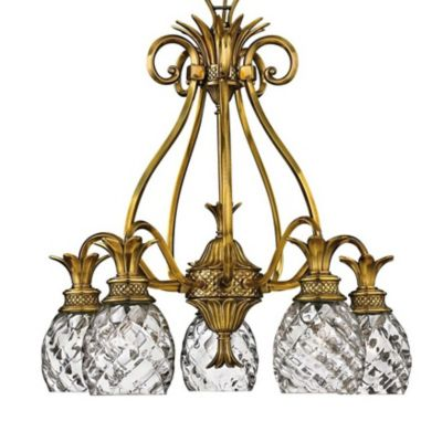 Plantation 5 Light Chandelier by Hinkley Lighting at Lumens com. Hinkley Lighting Plantation 5 Light Chandelier. Home Design Ideas