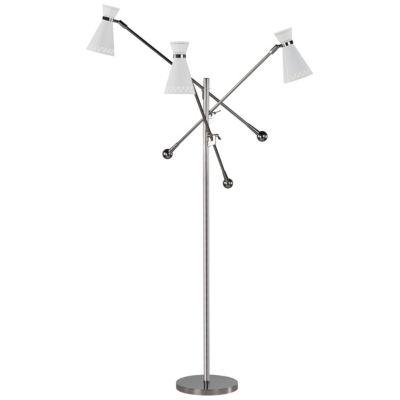 Havana 3 Arm Floor Lamp By Robert Abbey At Lumens Com