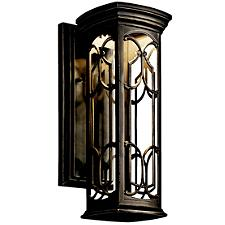 Franceasi LED Outdoor Wall Sconce