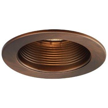 Copper Bronze Baffle with Copper Bronze Trim