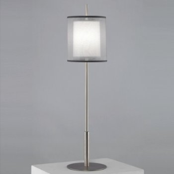 Shown in Stainless Steel with Silver Transparent Shade