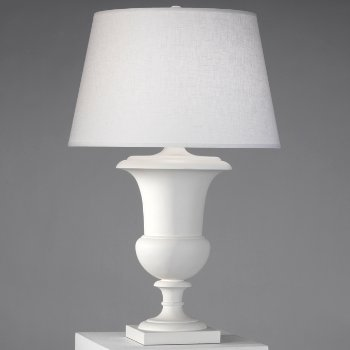 Shown in Matte White with White Brussels Linen