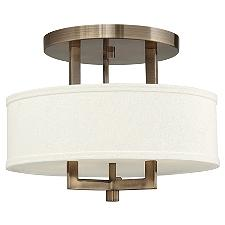 Hampton Semi-Flushmount Light