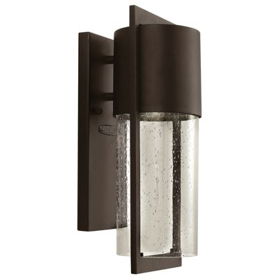 Led outdoor lighting led outdoor patio lights at lumens shelter outdoor wall sconce mozeypictures Choice Image