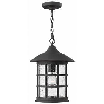 Freeport Outdoor Pendant, in use