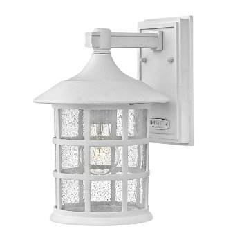 Shown in Classic White with Clear Seedy finish, Medium size