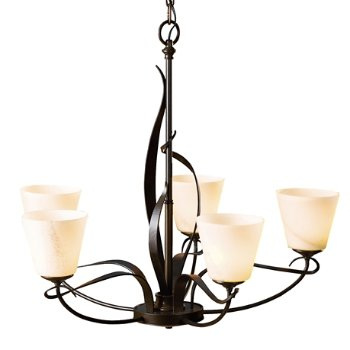 Shown in Bronze finish with Stone Glass color, Bell Design