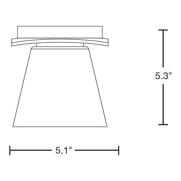 Wren Flushmount