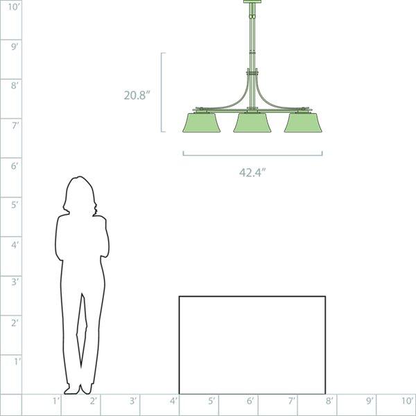 Modern Prairie Adjustable Linear Suspension