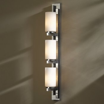 Shown in Vintage Platinum finish with Opal Shade color, Left