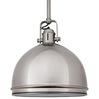 Shown in Satin Nickel finish, Large size