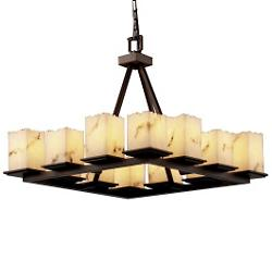 LumenAria Montana 12-Light Chandelier
