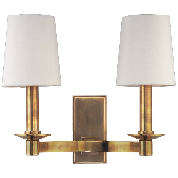Spencer 2 Light Wall Sconce By Hudson