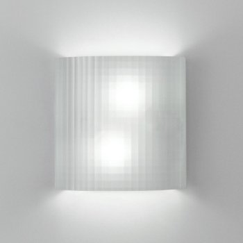 Facet Wall Sconce (Textured/Incandescent) - OPEN BOX RETURN