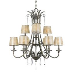 Kendra 2-Tier Chandelier