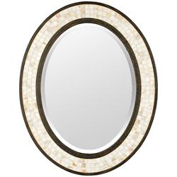 Monterey Mosaic Mirror-Oval