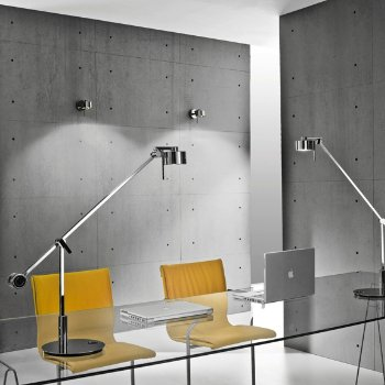 Shown with AX20 Table Task Lamp (sold separately)