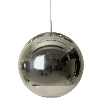 mirror ball pendant by tom dixon at. Black Bedroom Furniture Sets. Home Design Ideas
