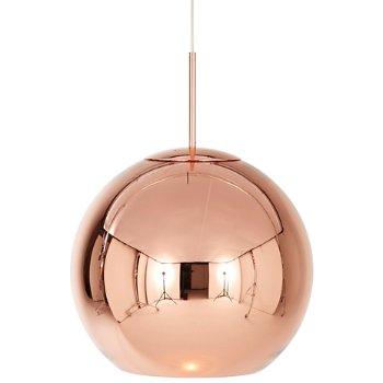 Shown in Copper finish, 17.72 Inches size