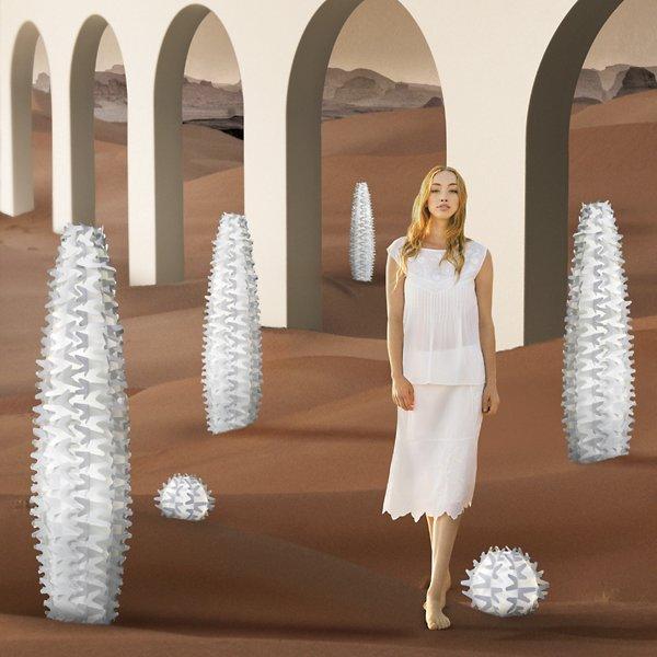 Cactus Medium Table Lamp
