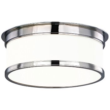 Shown in Polished Chrome finish, Medium size