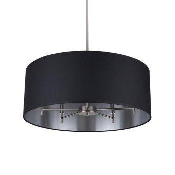 Shown in Metallic Black/ Silver shade, Brushed Nickel finish