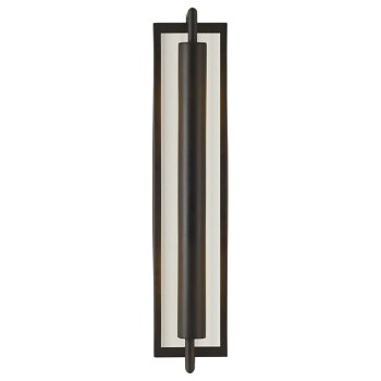 Shown in Brushed Steel with Opal shade