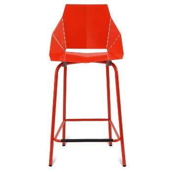 Shown in Red, Counterstool / 35.5-Inch