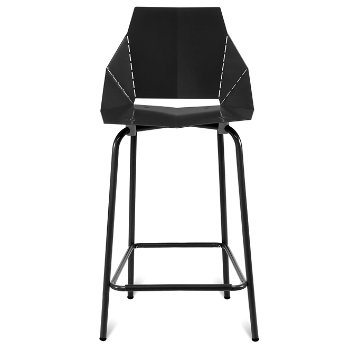 Shown in Black, Counterstool / 35.5-Inch