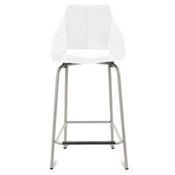 Shown in White. Counterstool / 35.5-Inch