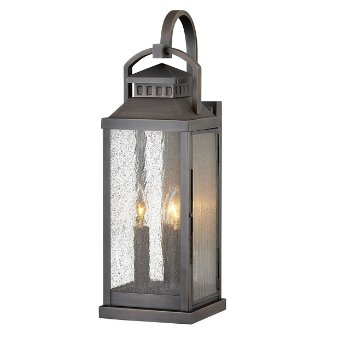 Revere Outdoor Wall Sconce No. 1185, in use