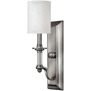 Shown in Brushed Nickel with White