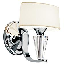 Crystal Persuasion Wall Sconce