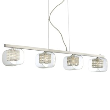 Jewel Box 4-Light Linear Suspension
