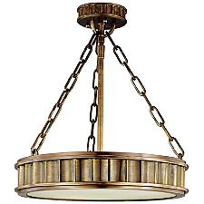 Middlebury Round Semi-Flushmount Light