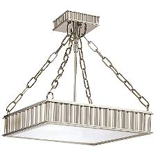 Middlebury Square Semi-Flushmount Light
